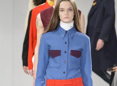 Raf Simons presenteert zijn eerste collectie voor Calvin Klein