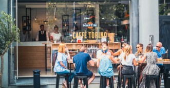 Martini Caffè Torino, Antwerpen