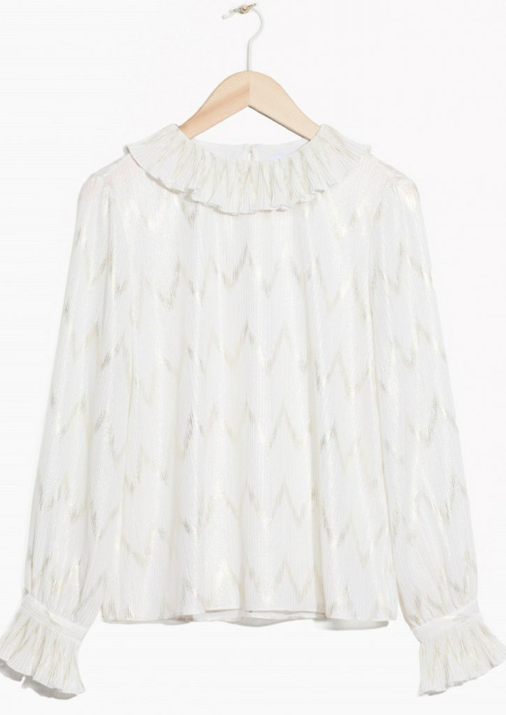 Blouse met ruches & Other Stories