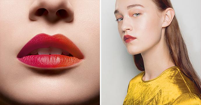 Beautytrend: Ombré lippen