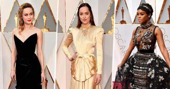 De 10 meest spraakmakende jurken van de Oscars