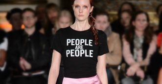 Politieke statements tijdens New York Fashion Week