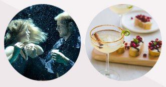Recept: Tournée Minérale mocktail door The Mocktailclub en granaatappel bruscetta door Amylia van cookameal.be