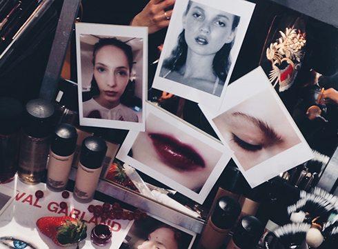 Live @ Paris Fashion Week: Backstage beauty's, part 2