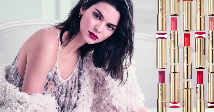 Lippen als Kendall Jenner met #LoveLipRemix van Estée Lauder