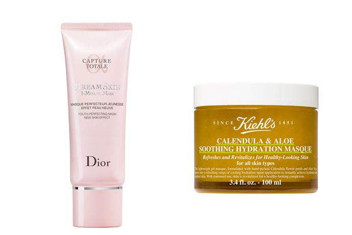 Snelle hydratatie met maskers van Dior of Kiehl's