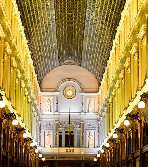 TIP: De Koninklijke Sint-Hubertusgalerijen zijn jarig en vieren dat met een unieke lichtshow