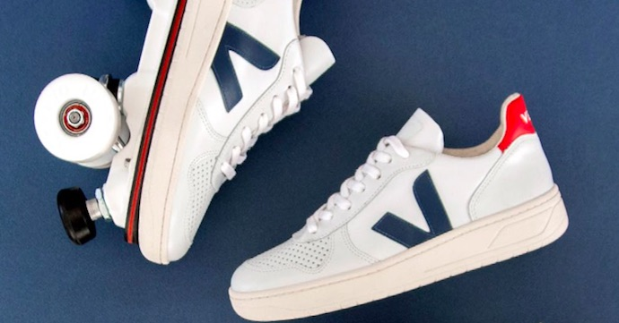 Crush of the Day: De rollersneakers van Veja & Flaneurz