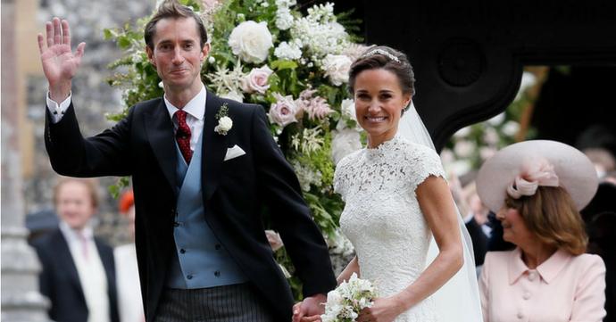 Zien: de leukste foto's van het huwelijk van Pippa Middleton
