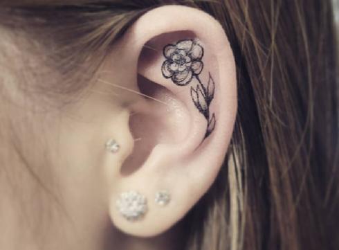 De nieuwste tatoeagetrend: de helixtattoo
