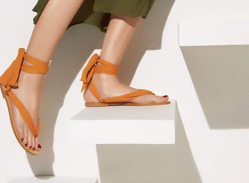 Eres x Nupié: 1 paar sandalen, meerdere looks