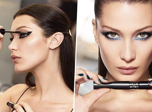 Ogen als Bella Hadid met de Dior Pump'N'Volume mascara