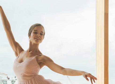Rijzende ster: ballerina Nina Tonoli