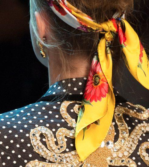 Knoop eens een sjaaltje in je haar! 5 DIY ideeën