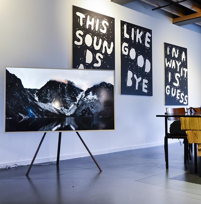 samsung frame tv kunstwerk