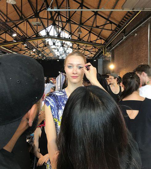 Achter de schermen met M.A.C. op de show van de Antwerpse modeacademie