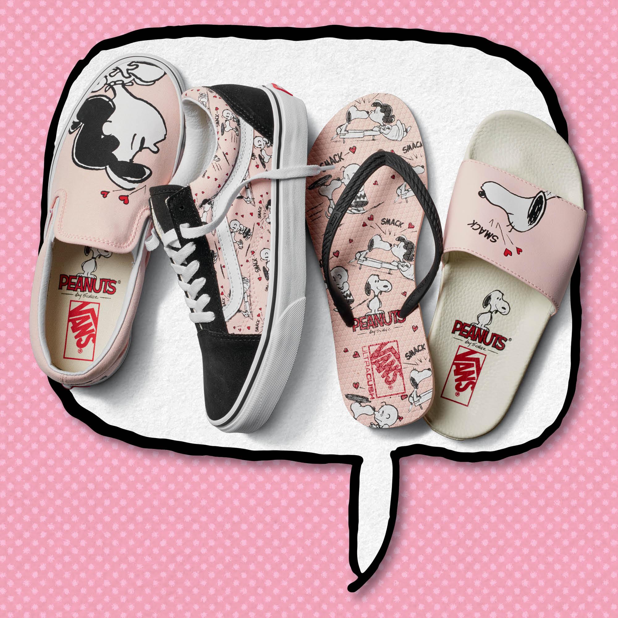 Vans x Peanuts sneakers capsulecollectie accessoires rugzakken