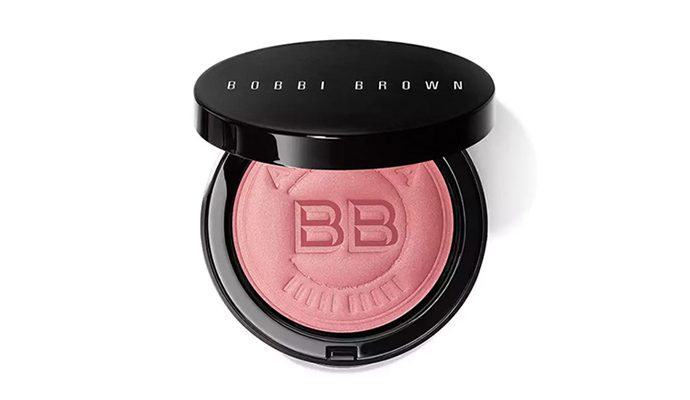 highlighter make-up gezonde blos huid