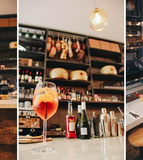 CŎCĪNA opent aperitivo bar & pizzeria nabij Flagey
