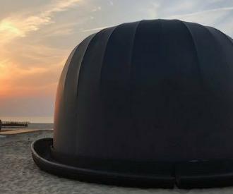 Knokke-Heist René Magritte openlucht expo internationaal Magrittejaar