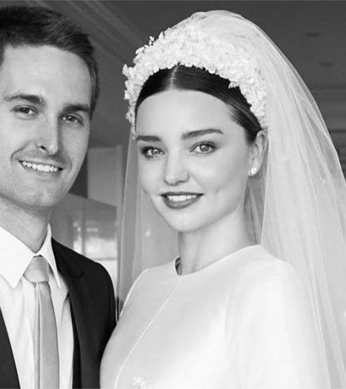 Daar zijn ze dan eindelijk: de huwelijksfoto's van Miranda Kerr