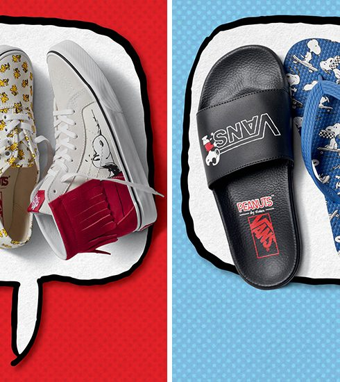Crush of the Day: De nostalgische Vans x Peanuts collectie