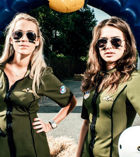 ZIEN: Olga Leyers als testpiloot voor de Red Bull Zeepkistenrace
