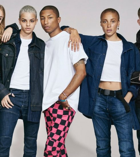 Pharrell Williams moedigt diversiteit aan in G-Star RAW campagne
