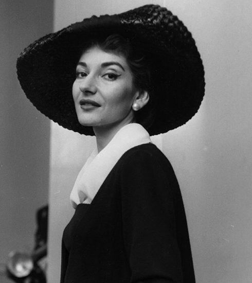 Maria Callas, voor één keer niet al zingend maar in boekvorm