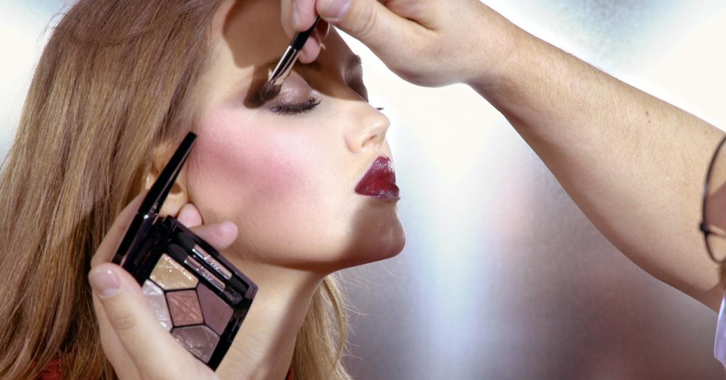 Zien: de make-up tutorial van Peter Philips met de Metallics collectie van Dior