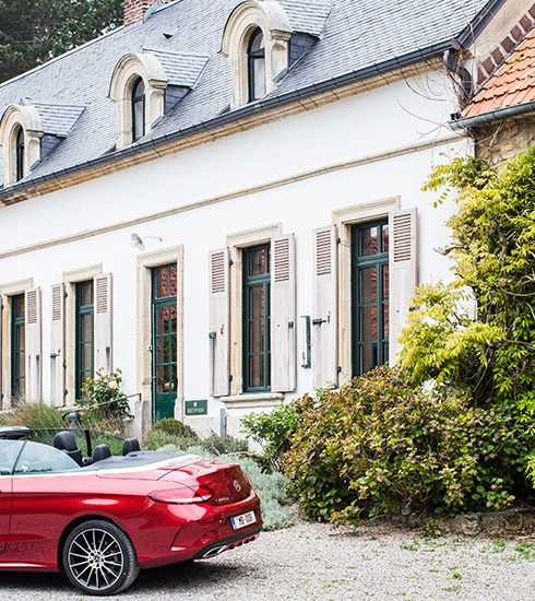Roadtrip naar de Franse Opaalkust (met een prachtige Mercedes)