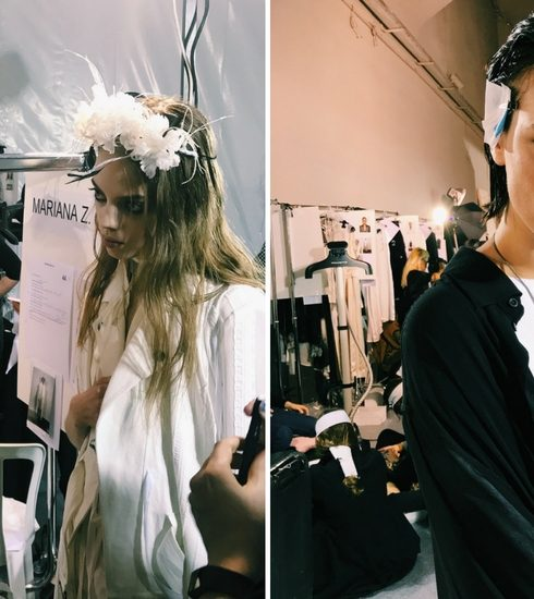 Paris Fashion Week: Backstage bij Ann Demeulemeester met M.A.C