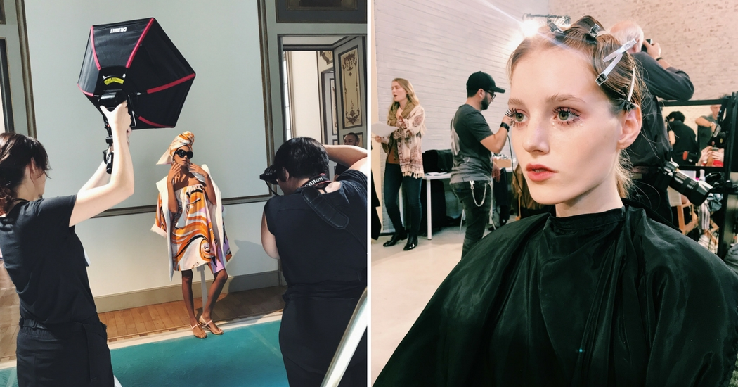 Milan Fashion Week: backstage met het M.A.C make-upteam