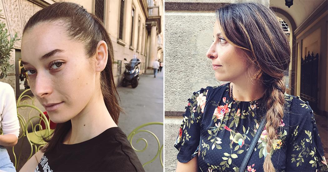 Streetstyle kapsels spotten op de Milan Fashion Week