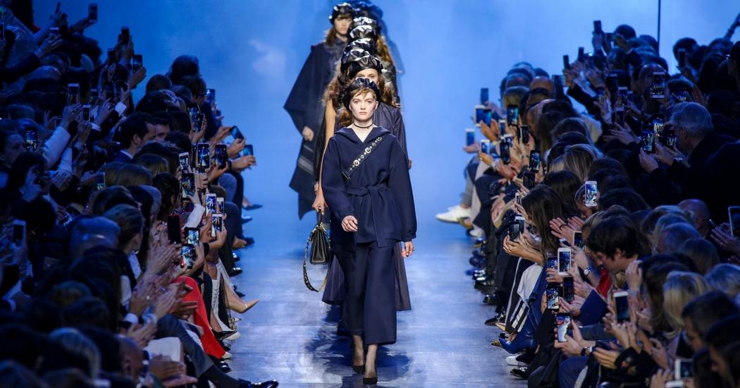 ZIEN: de livestream van de Christian Dior SS18 show
