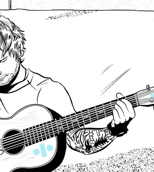 Ed Sheeran lost ontwapenend schattige nieuwe videoclip