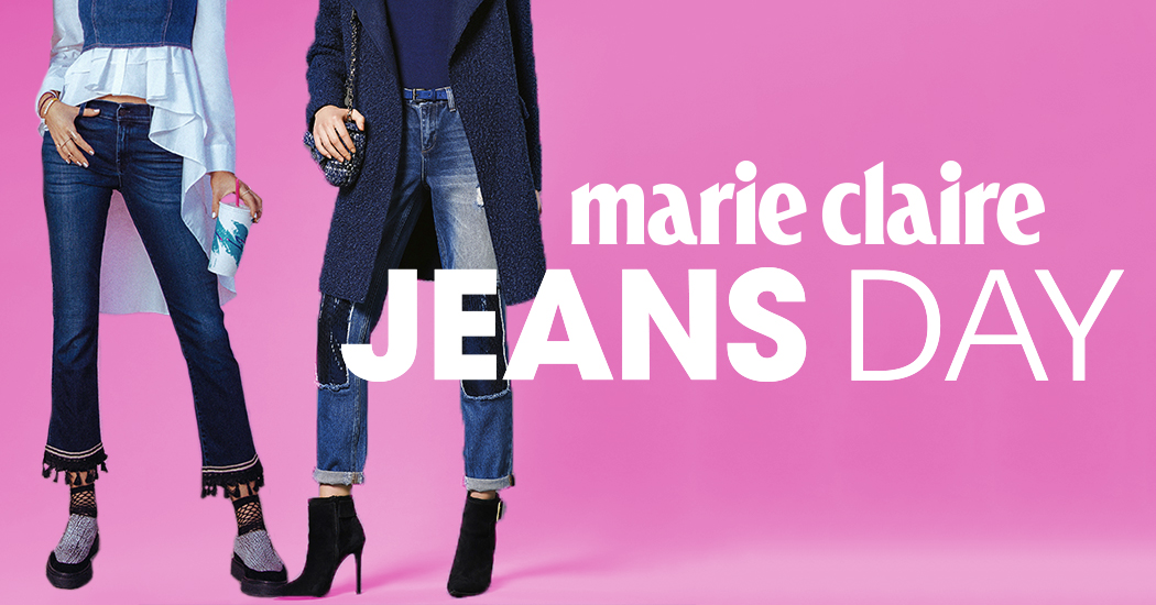 Zaterdag 7 oktober is de Marie Claire JEANS DAY!