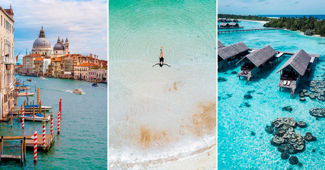 10 idyllische reisbestemmingen om te bezoeken voor ze voorgoed verdwijnen