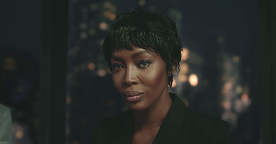 Naomi Campbell playbackt Wham! hit in najaarscampagnevideo van H&M