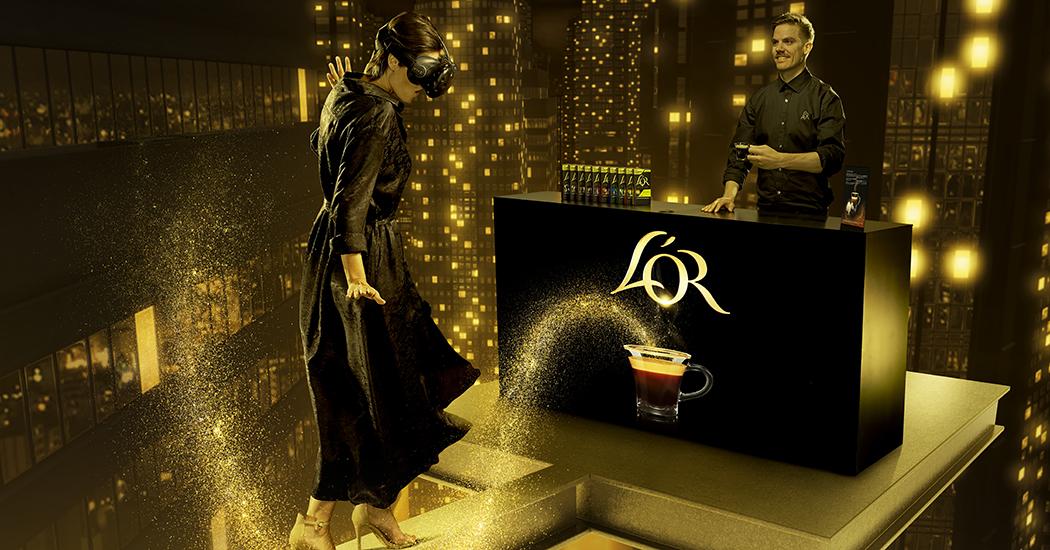 Duik mee in de 3D-wereld van L'OR's Café ExtraORdinaire
