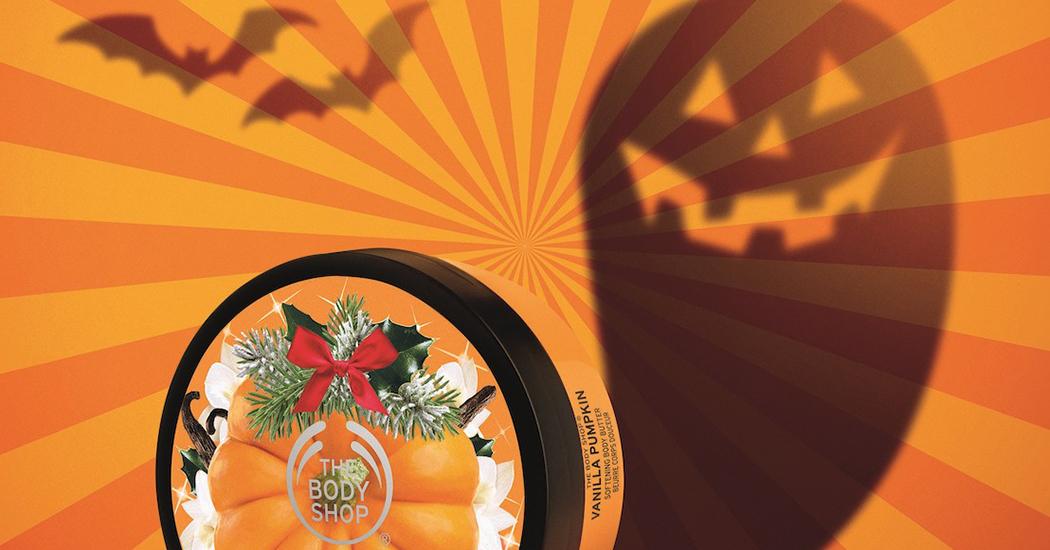 Crush of the Day: De Halloween Special Edition Vanilla Pumpkin collectie van The Body Shop