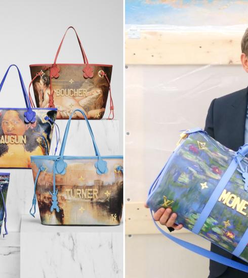 Jeff Koons en Louis Vuitton zetten samenwerking verder