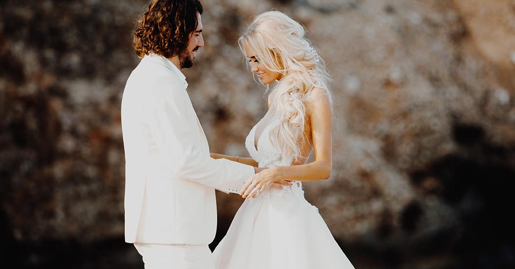 Schitter net als Anouk Matton in een unieke Nicky Vankets trouwjurk