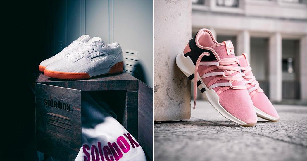 Hotspot: sneakers koop je voortaan bij Solebox in Brussel