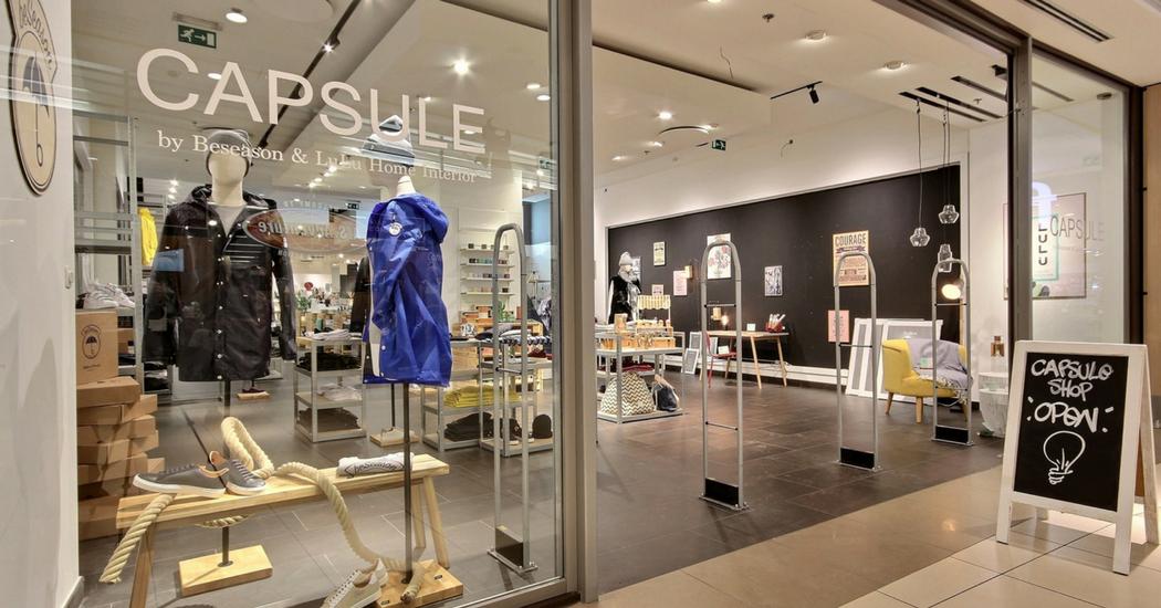 Capsule Shop, de pop-up voor de eindejaarsfeesten in de Guldenvliesgalerij