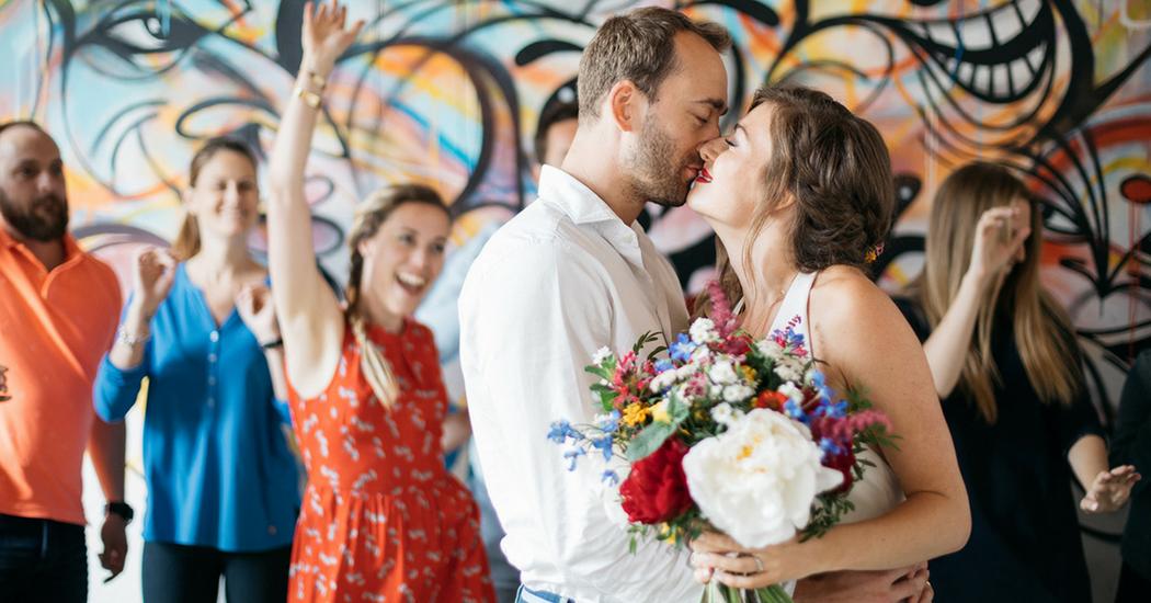 Kiss the bride festival