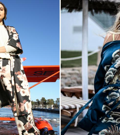 Fleur je winterdagen op met een bloemige kimono