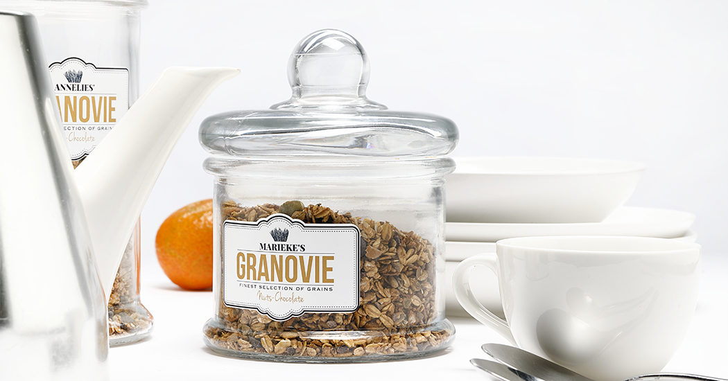 Crush of the Day: Gepersonaliseerde granola
