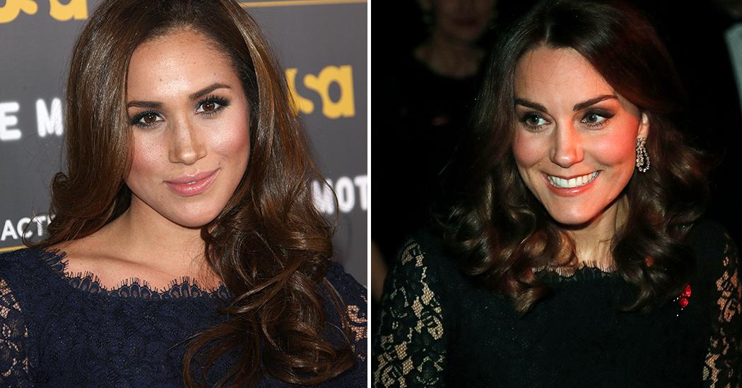 Twinning is winning: Kate Middleton en Meghan Markle kiezen voor dezelfde jurk