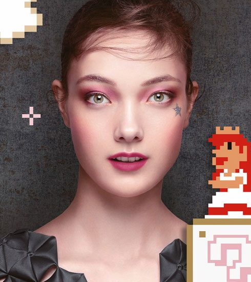 Crush of the Day: De Shu Uemura x Super Mario Bros. collectie